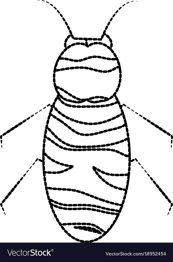 Bee icon honey flying insect animal garden