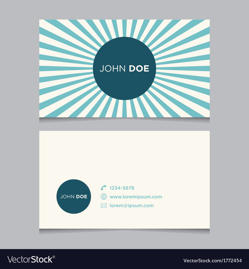 Business card pattern blue 04 Royalty Free Vector Image