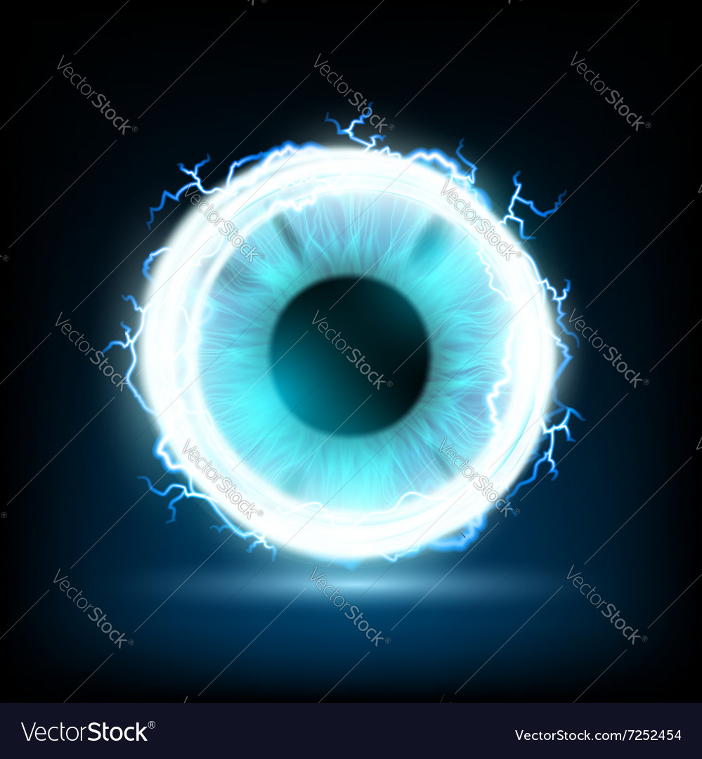 Human eye Stock vector image