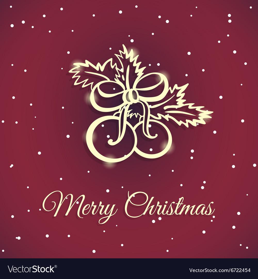 New Year And Xmas Badge 6 vector image