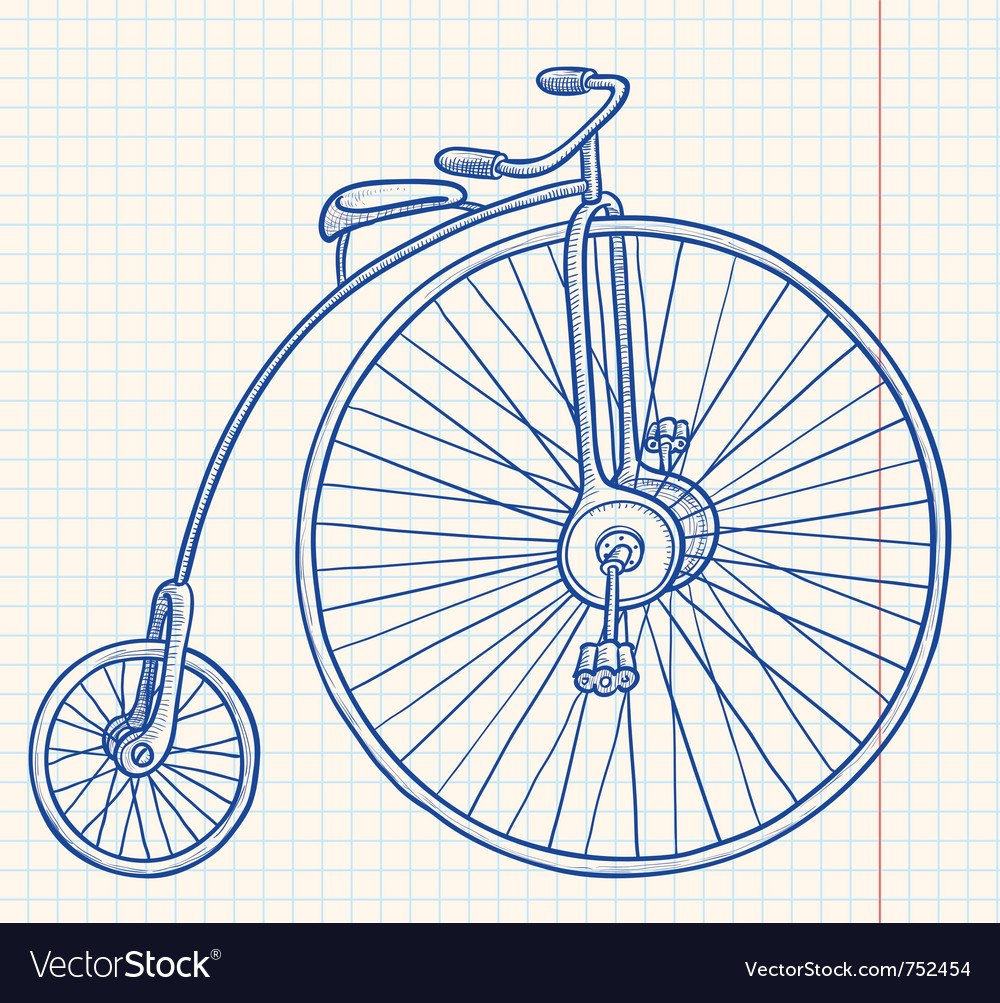 Retro-styled bicycle