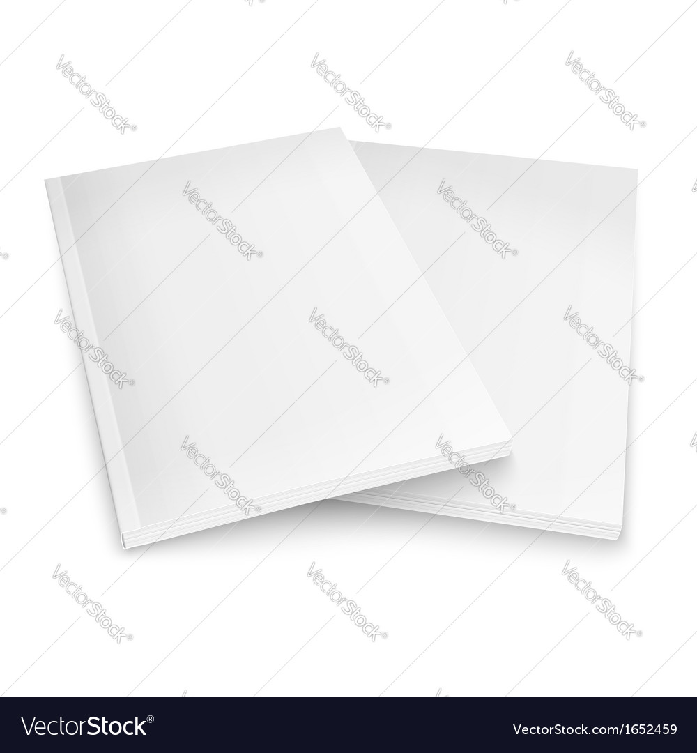 Couple of blank magazines template