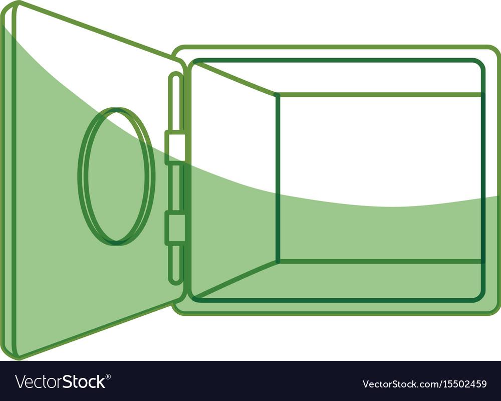 Isolated money security box