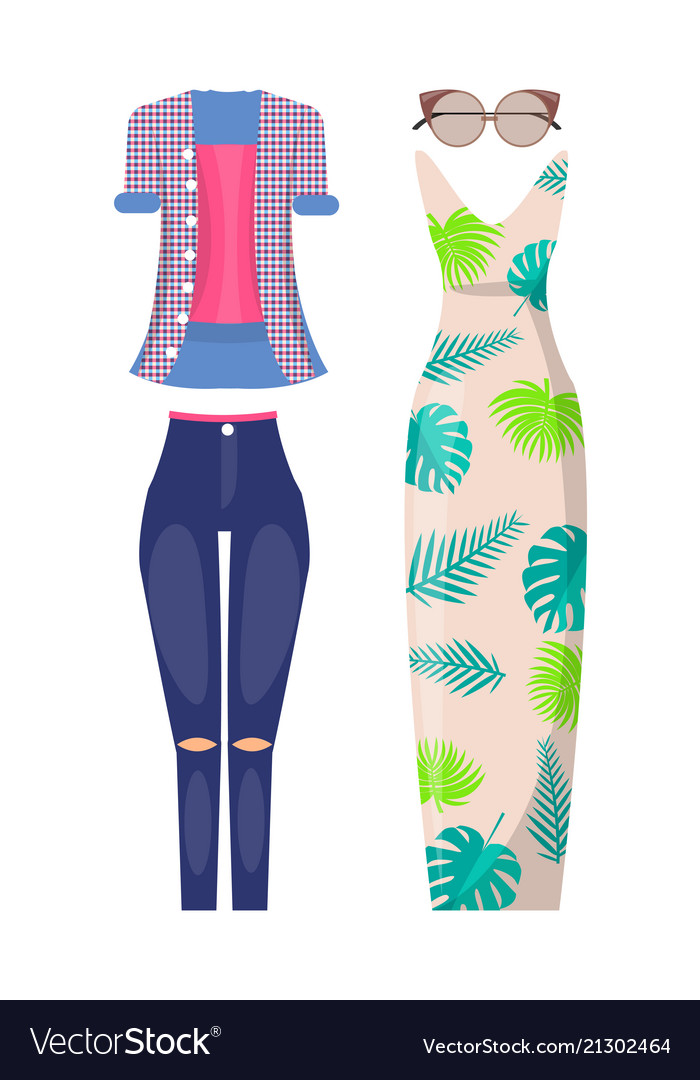 Summer female stylish outfits casual and elegant