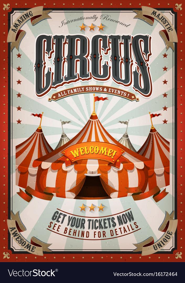 vintage circus posters