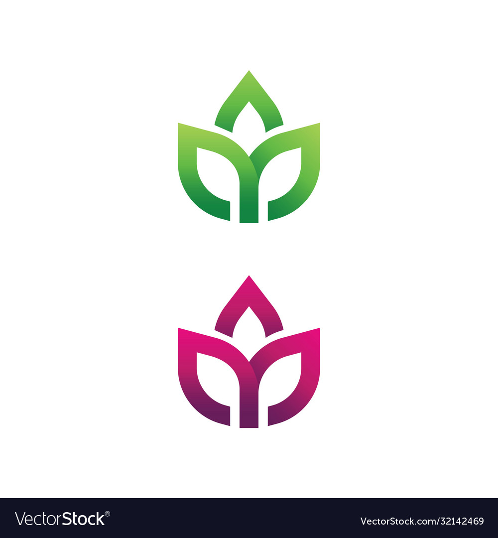 Beauty lotus flower icon