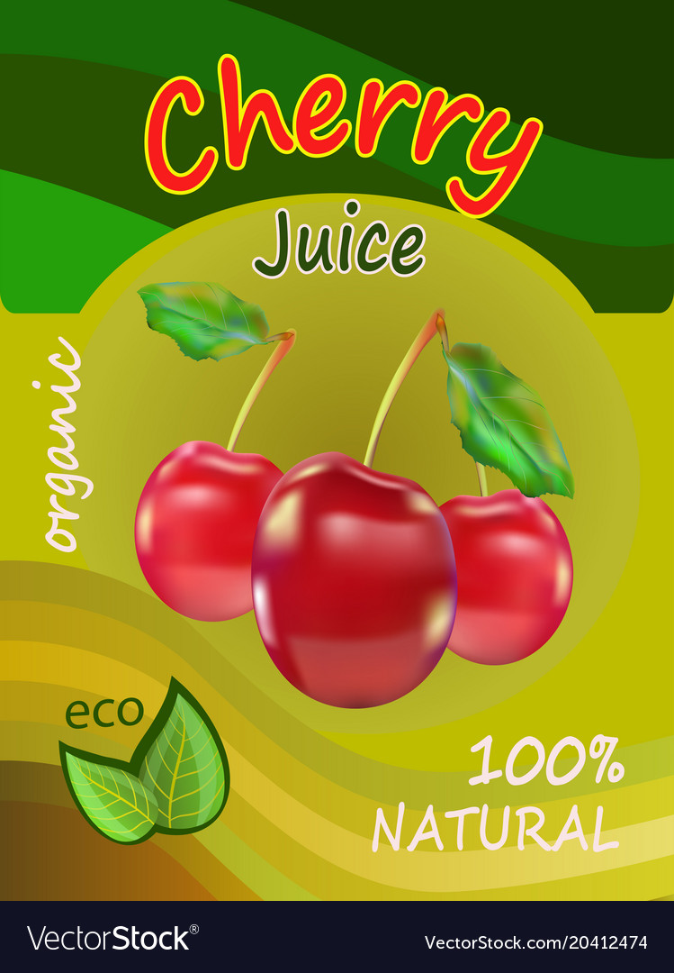 A packing of juice of red c