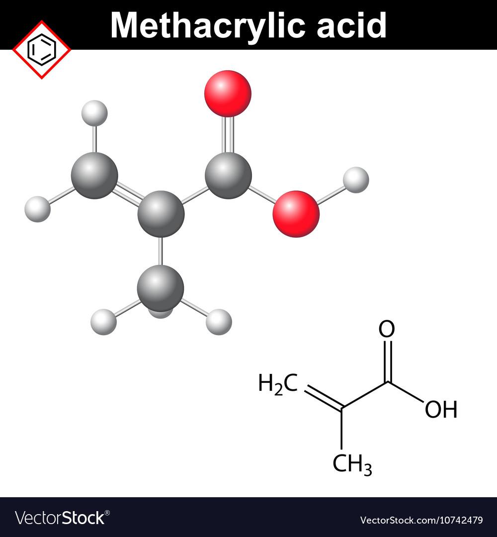 Methacrylic acid molecule