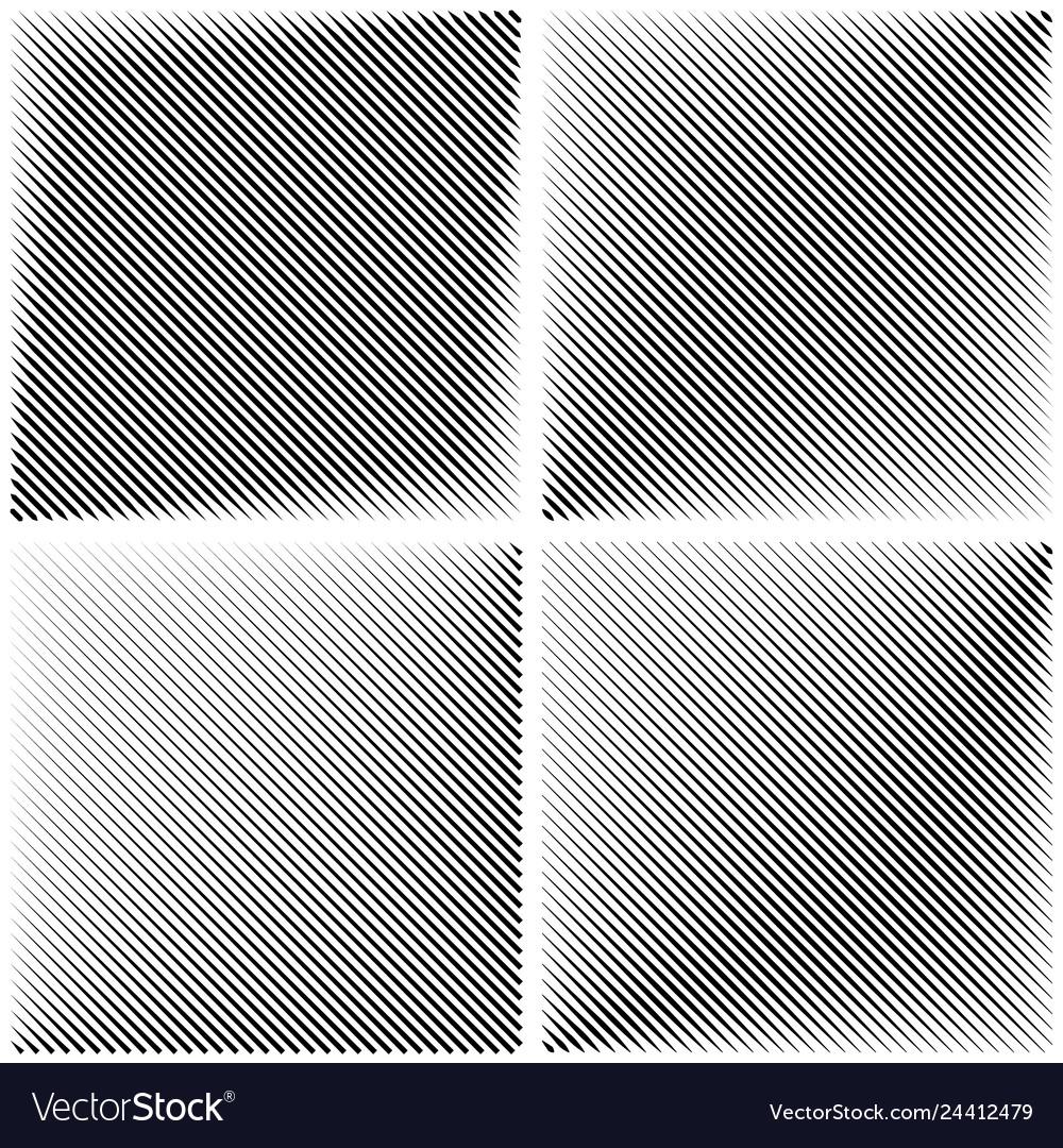 Set patterns diagonal stripe line