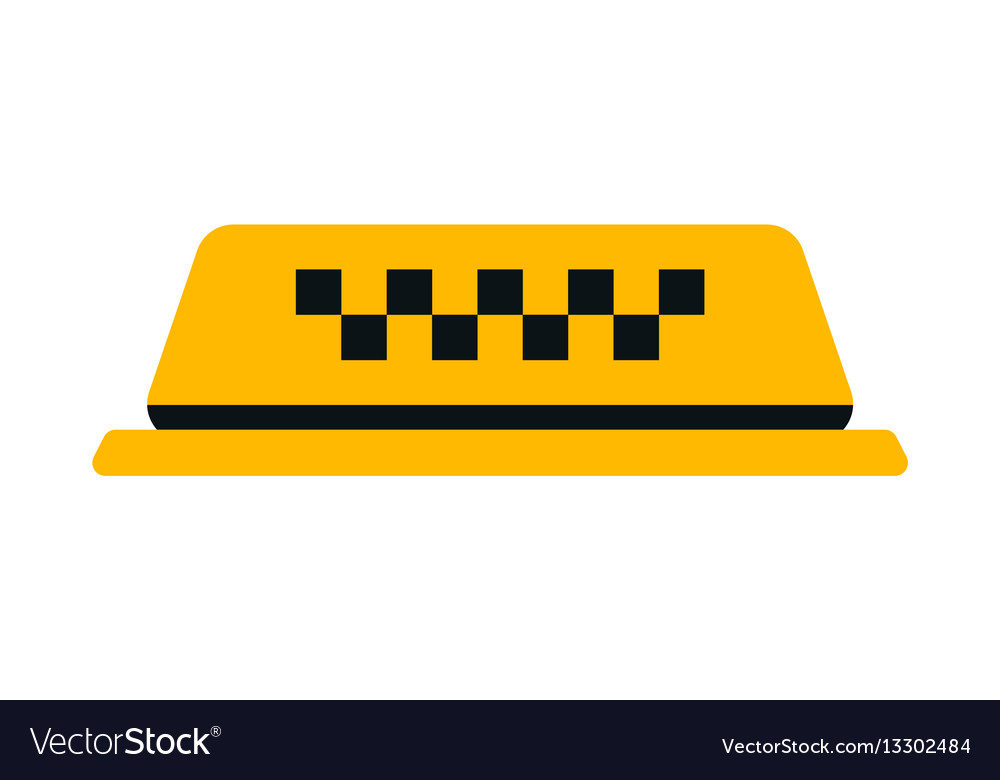 checker taxi cab royalty free vector image - vectorstock  vectorstock