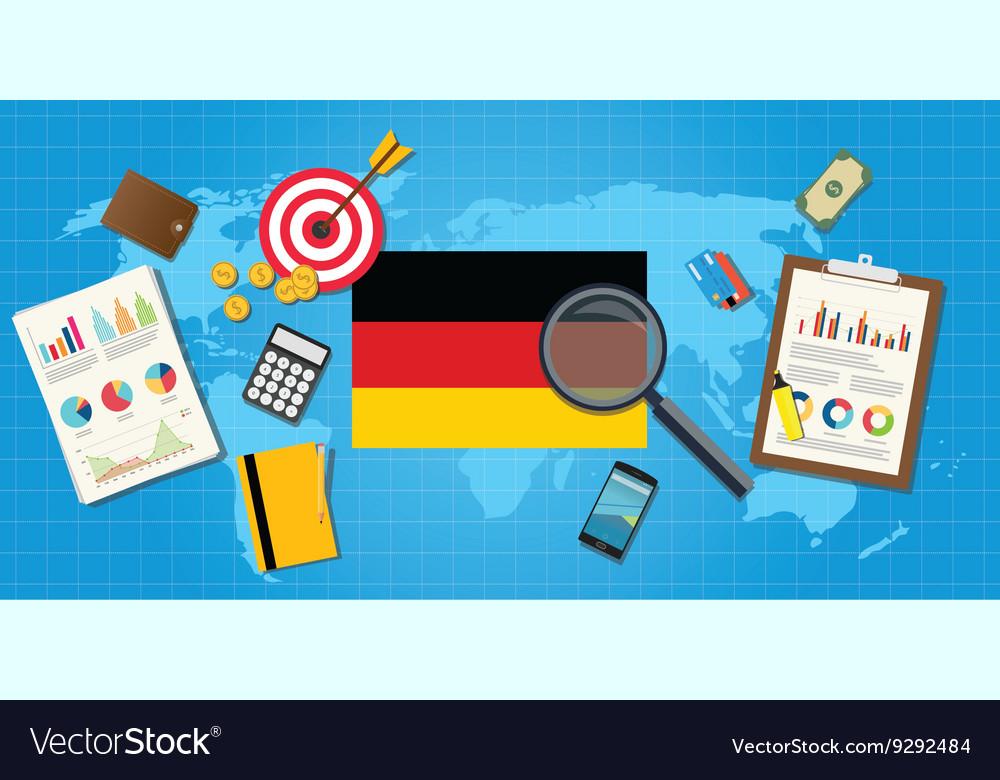 Germany economy economic condition country with