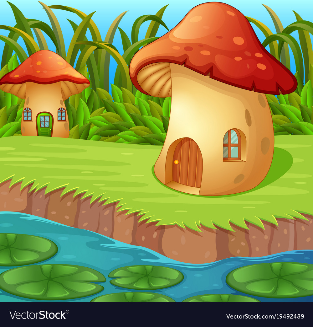 A waterlily in front of a mushroom house on house plant ivory, house plant sage, house plant eggplant, house plant fern, house plant strawberry, house plant fungus, house plant pink, house plant flower, house plant asparagus, house plant red, house plant willow, house plant mold, house plant dog, house plant larva, house plant coffee, house plant pineapple, house plant fennel, house plant corn, house plant thyme, house plant colorful leaves,