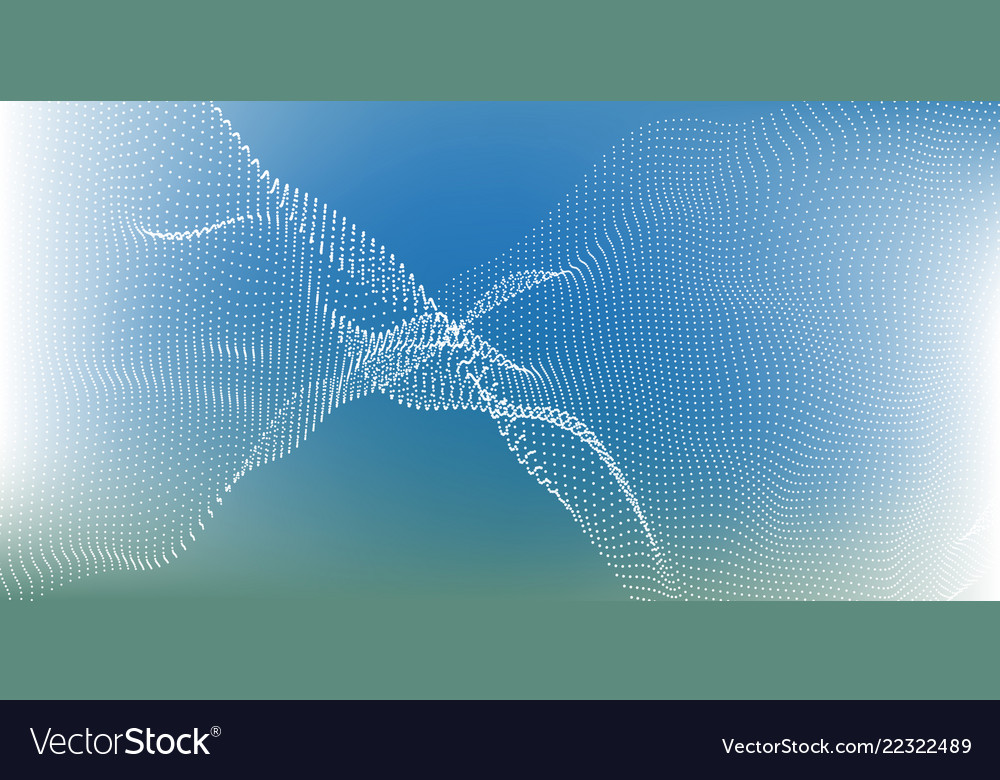 Abstract background light blue green gradient