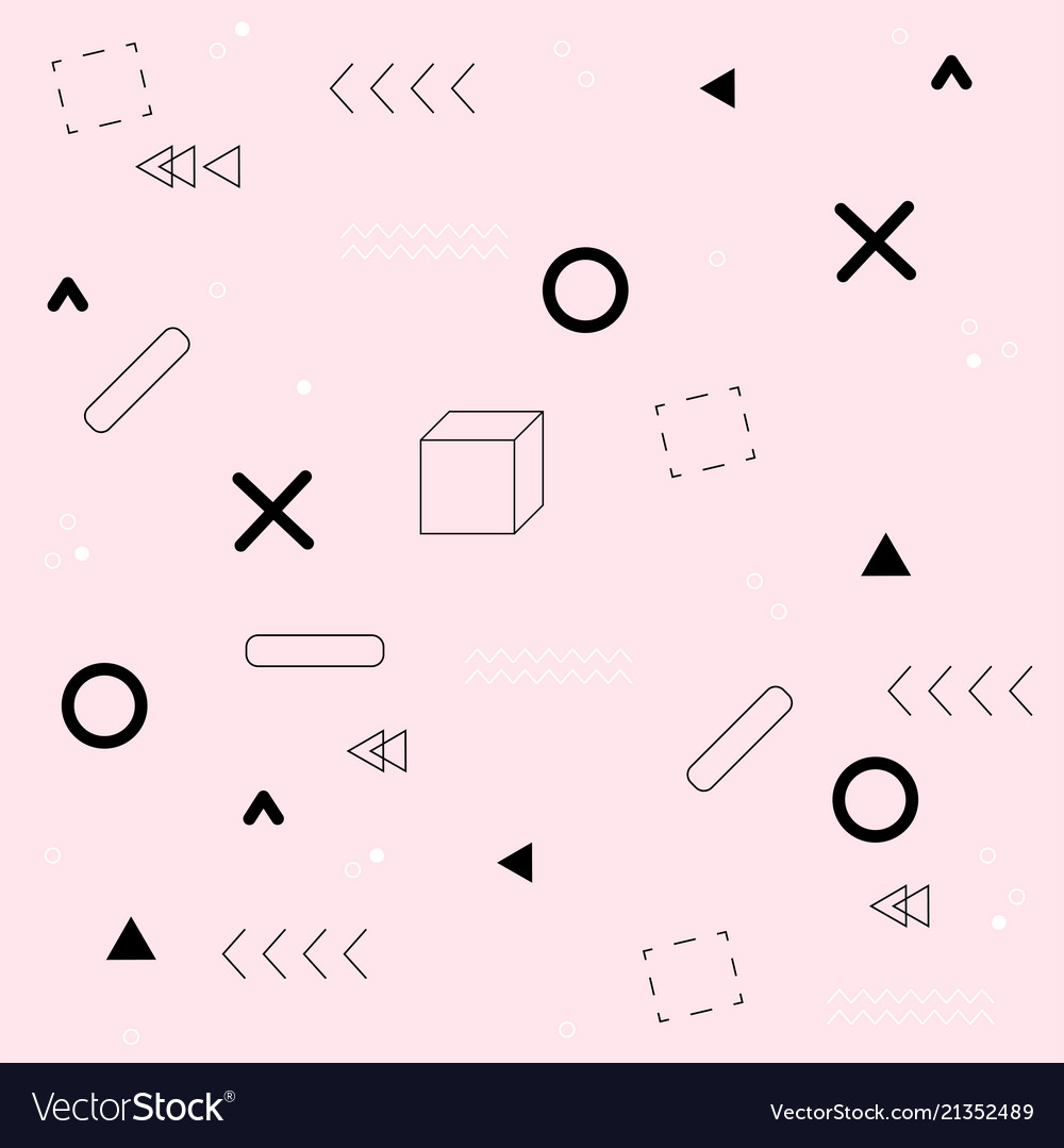 Abstract geometry pink pattern background i