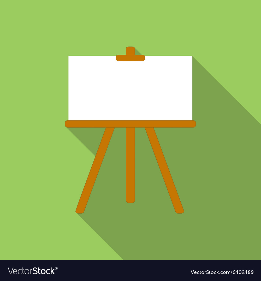 Canvas flat icon