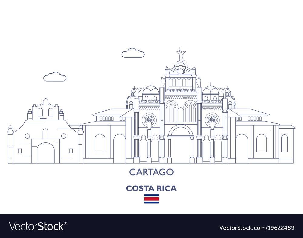 Cartago city skyline