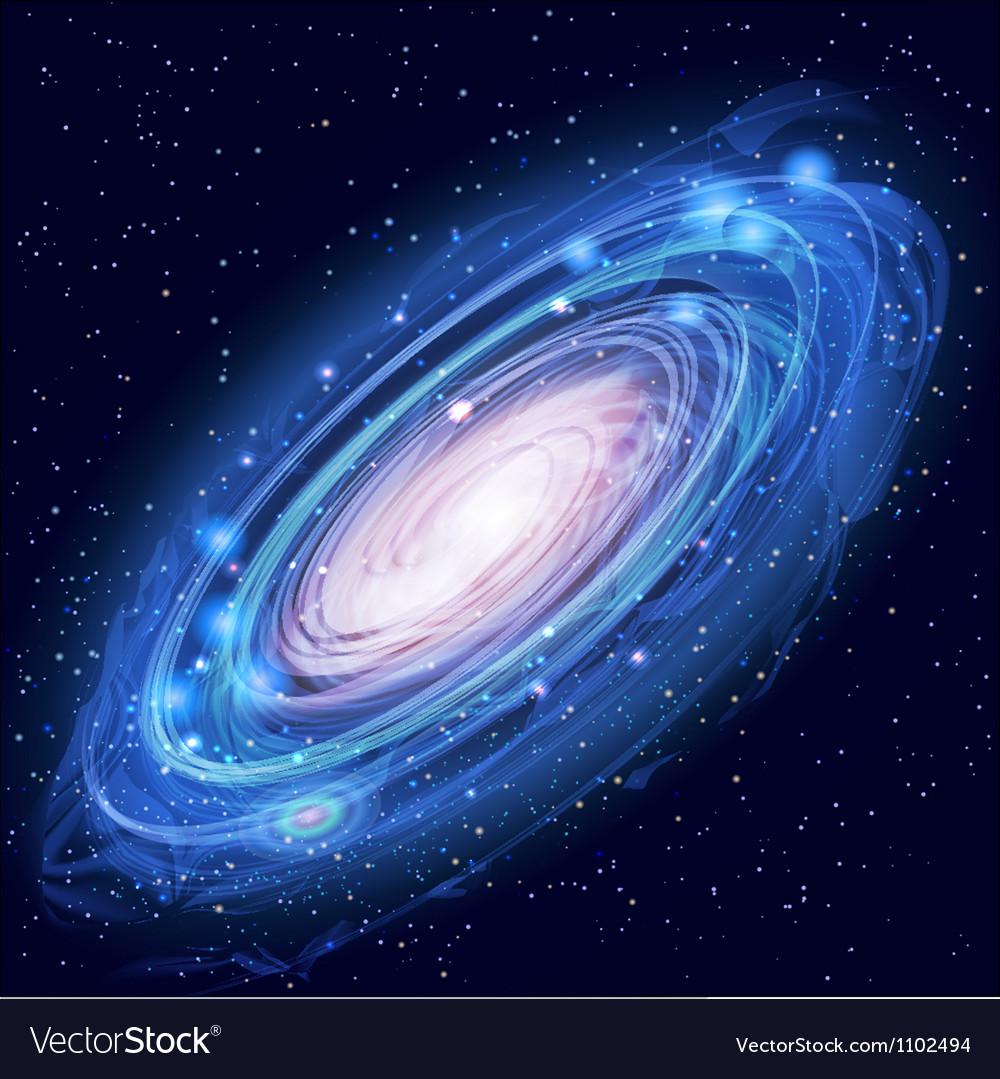 Beautiful Glowing Andromeda Galaxy
