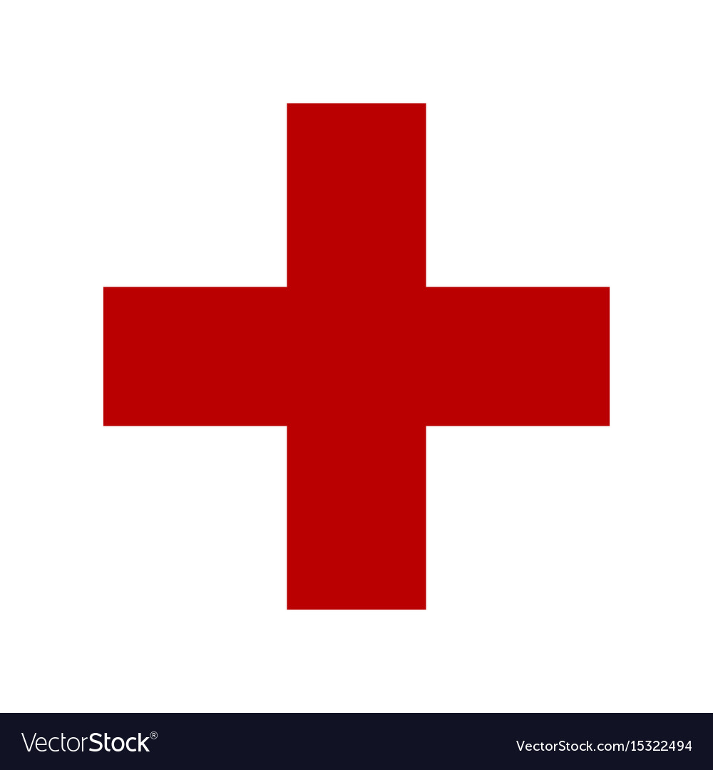 Symbol of medicine cross