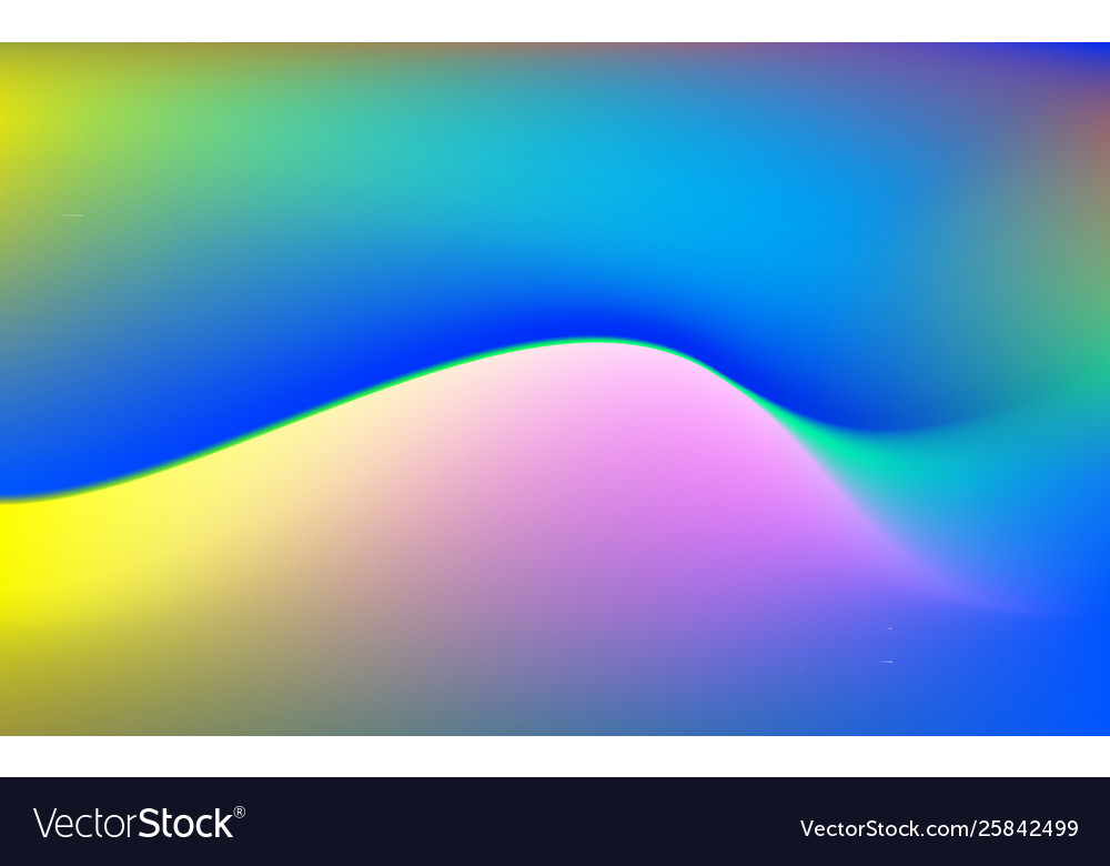 Abstract Color Fluid Gradient Background