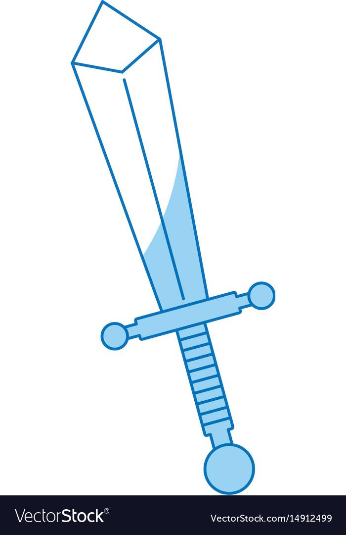 Cartoon sword weapon war metal image