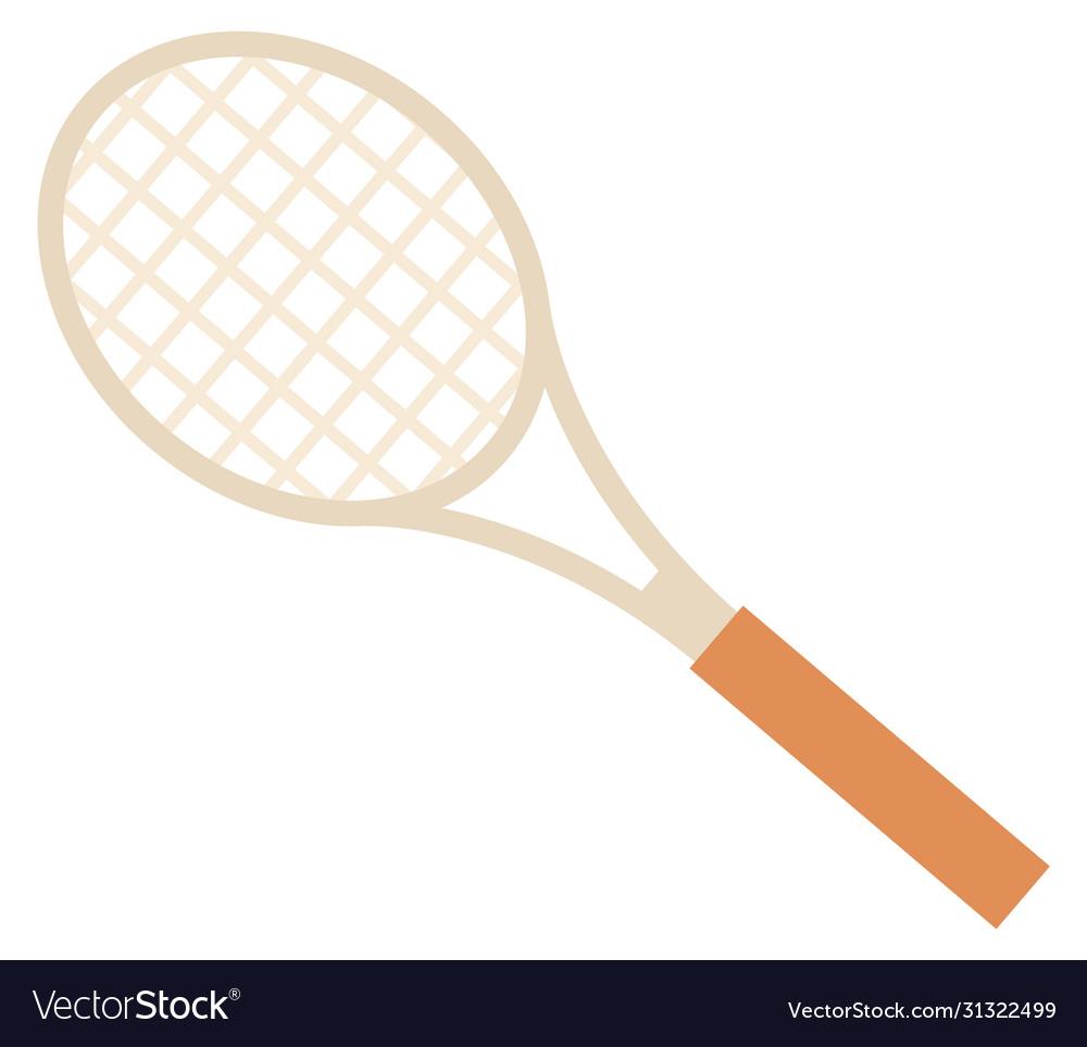 Racket for tennis or badminton sport image