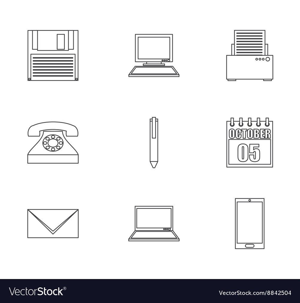 Business icon design vector image