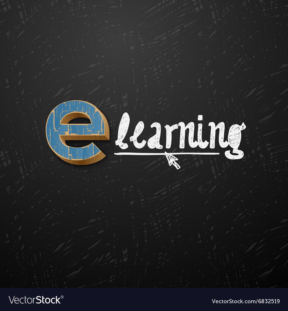 E-learning logtype design
