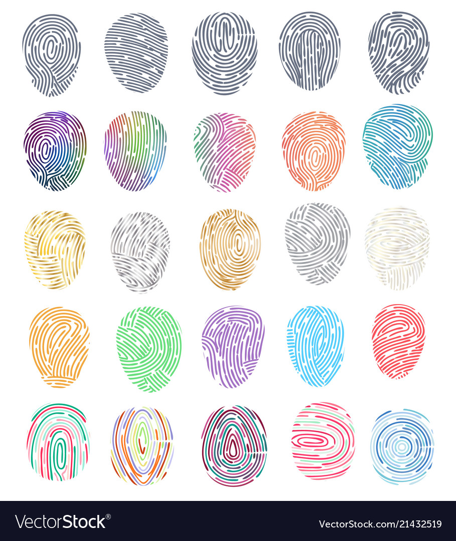 Fingerprint fingerprinting identity with