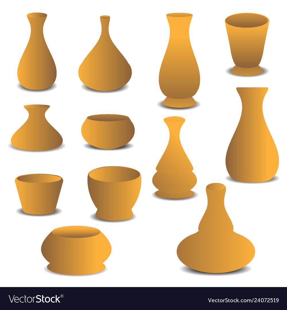 Pottery plant pot