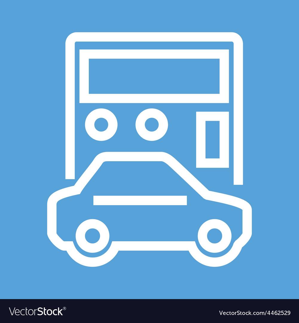 Auto Loan Calculator Royalty Free Vector Image