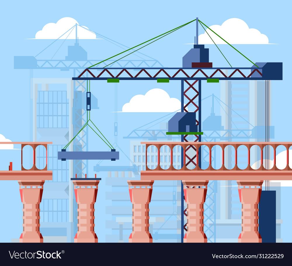 Bridge construction construction