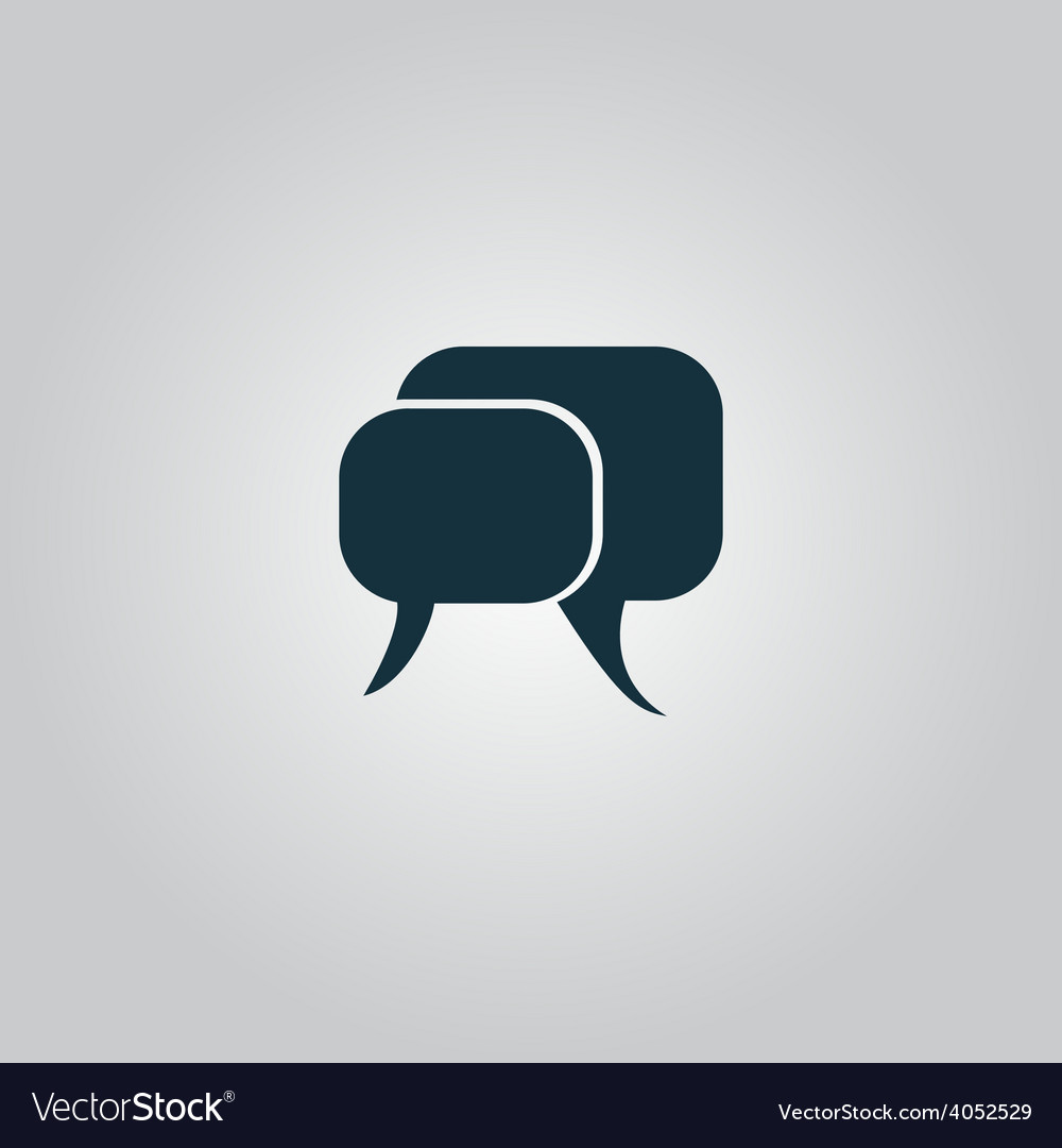 Dialogue quote icon