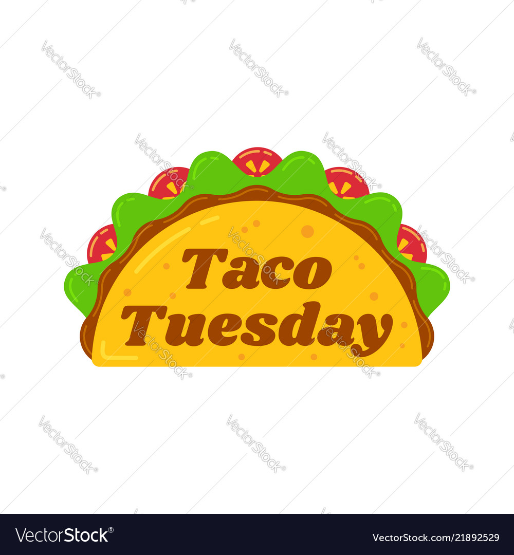 Traditional taco tuesday meal
