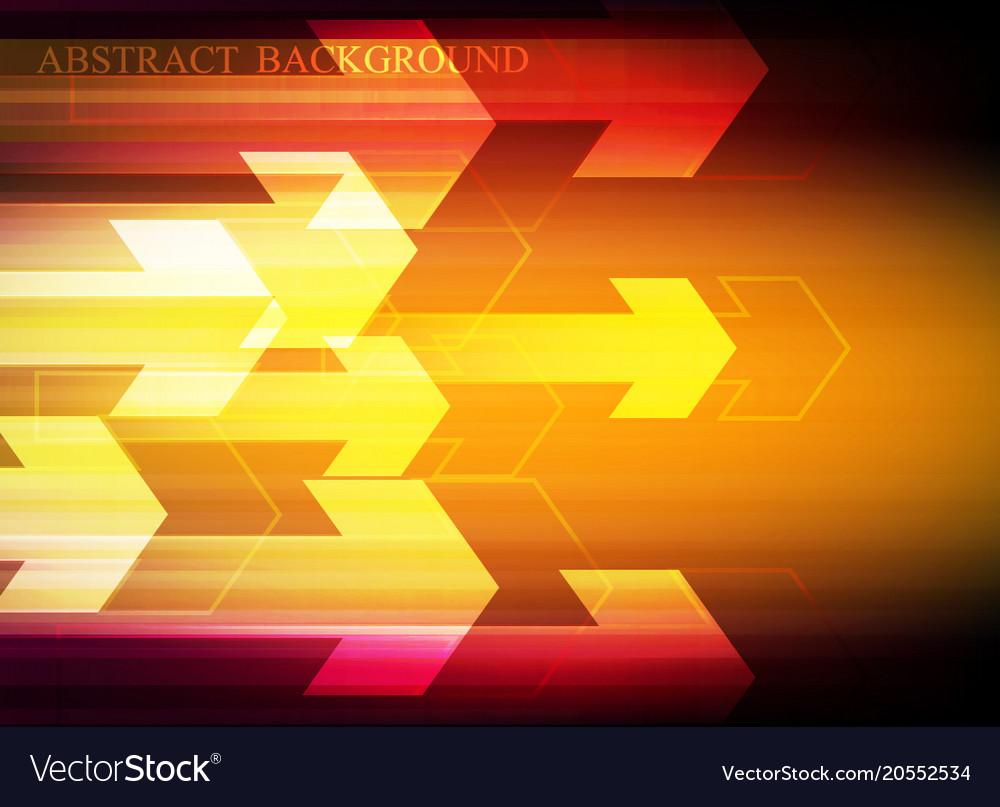 Arrow speed pattern red background