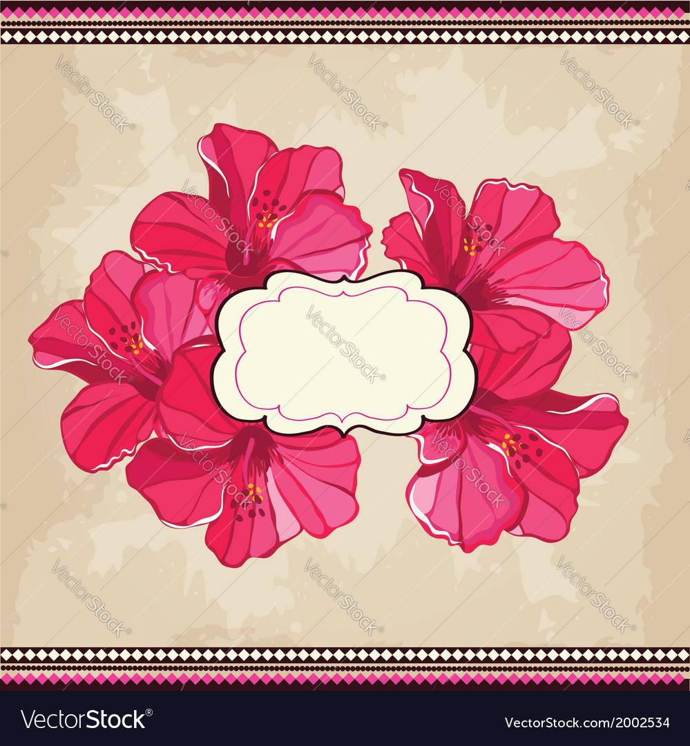 Beautiful floral patternSpring background