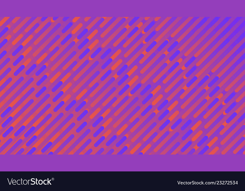 Colorful linear patterns blue and orange stripes