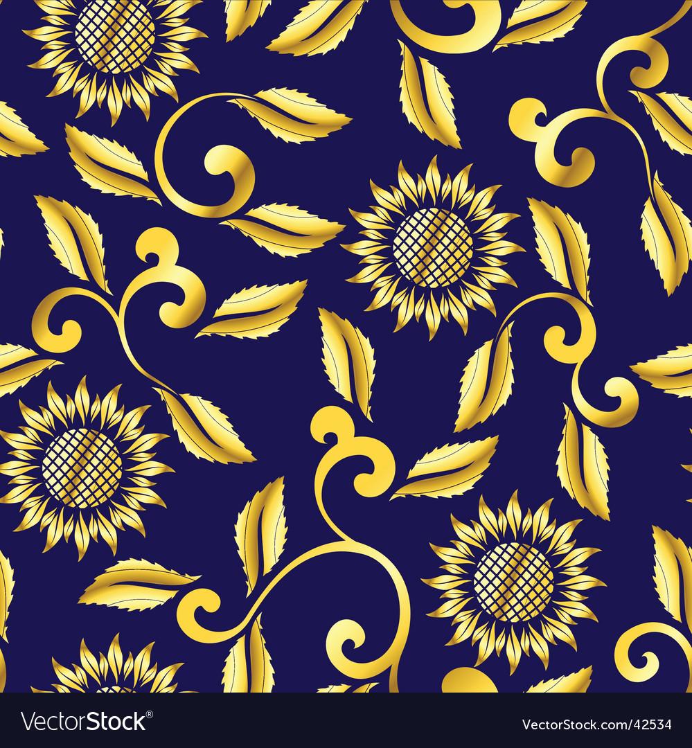Floral sari pattern