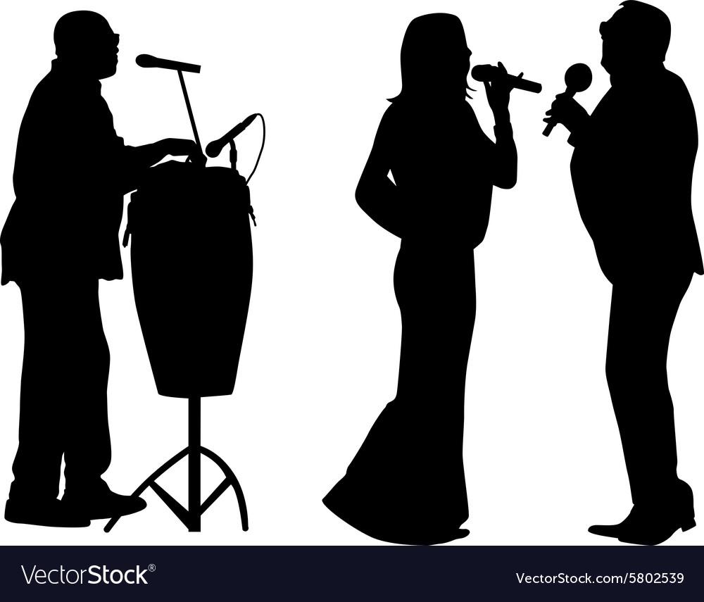 Singer and drummer