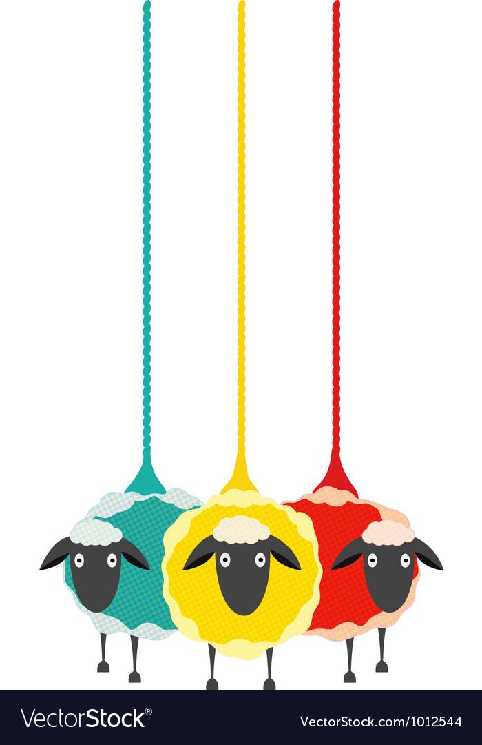 Three Yarn Sheep