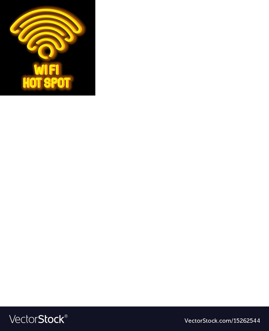 Wireless network symbol concept