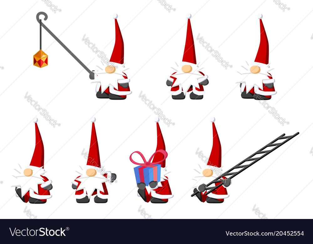 Christmas Gnomes Clipart.Christmas Gnomes