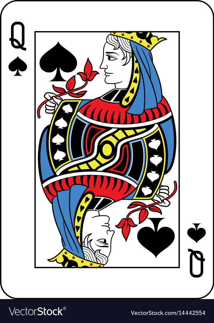 Queen of spades french version