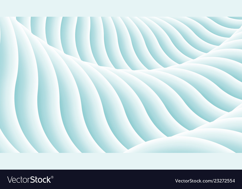 Stylized wavy abstract background