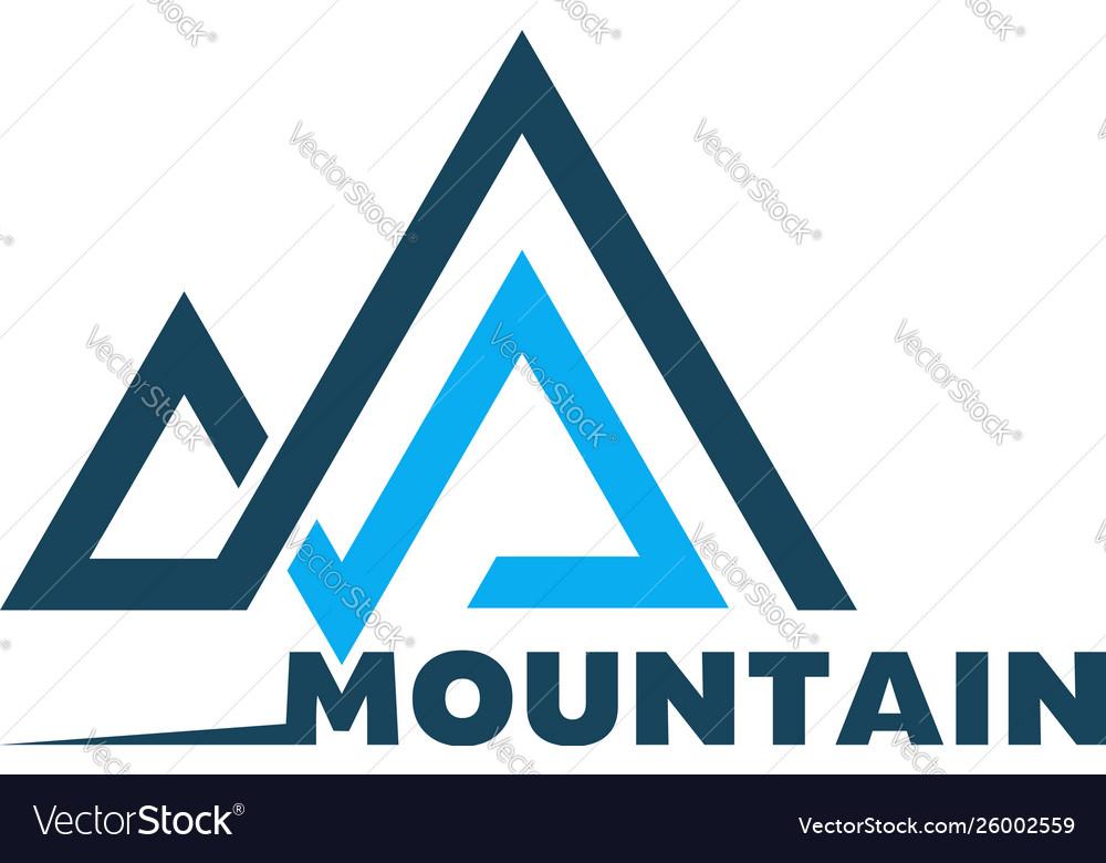 Mountain logo template logo for your design