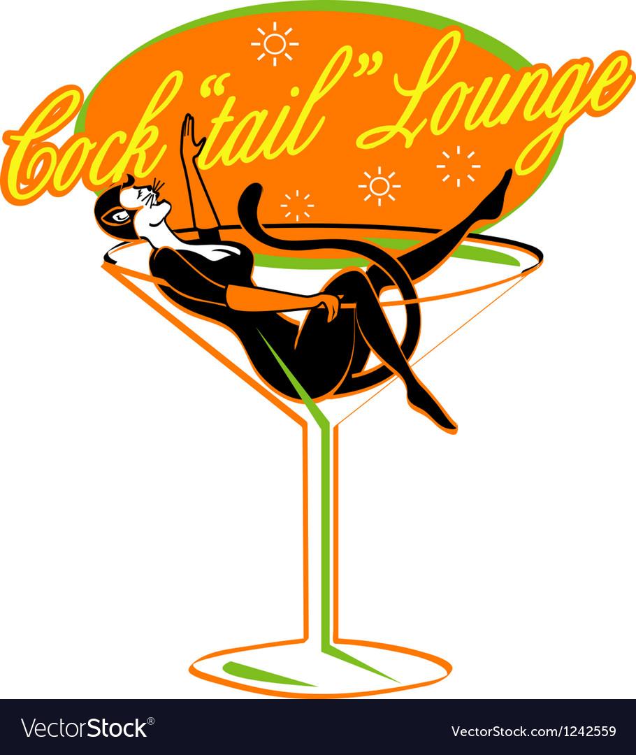 Pin up lounge girl