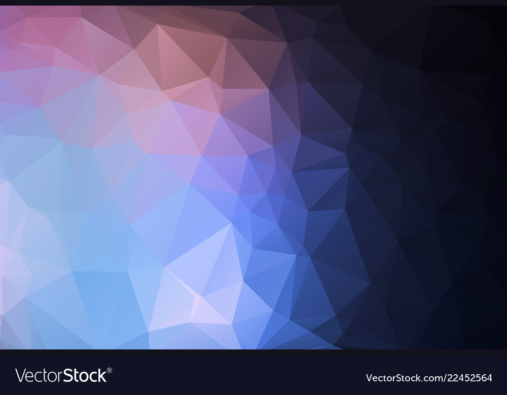 Polygonal mosaic background low poly style