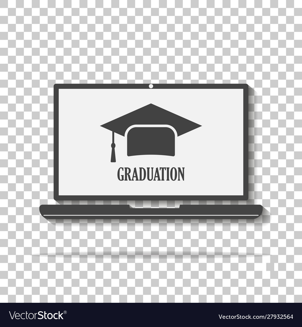 Symbol a degree for teaching webinar icon