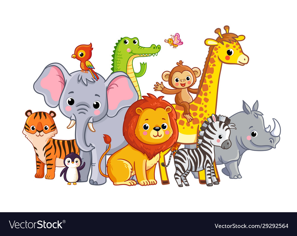With african animals