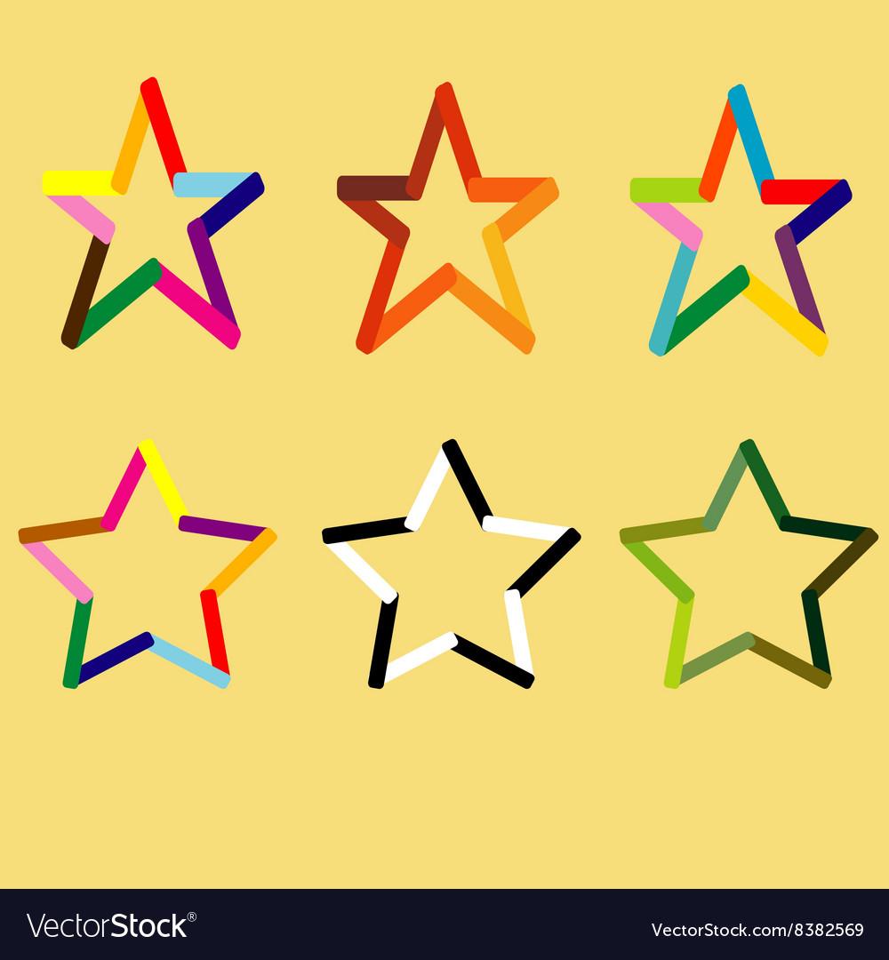 Different stars set
