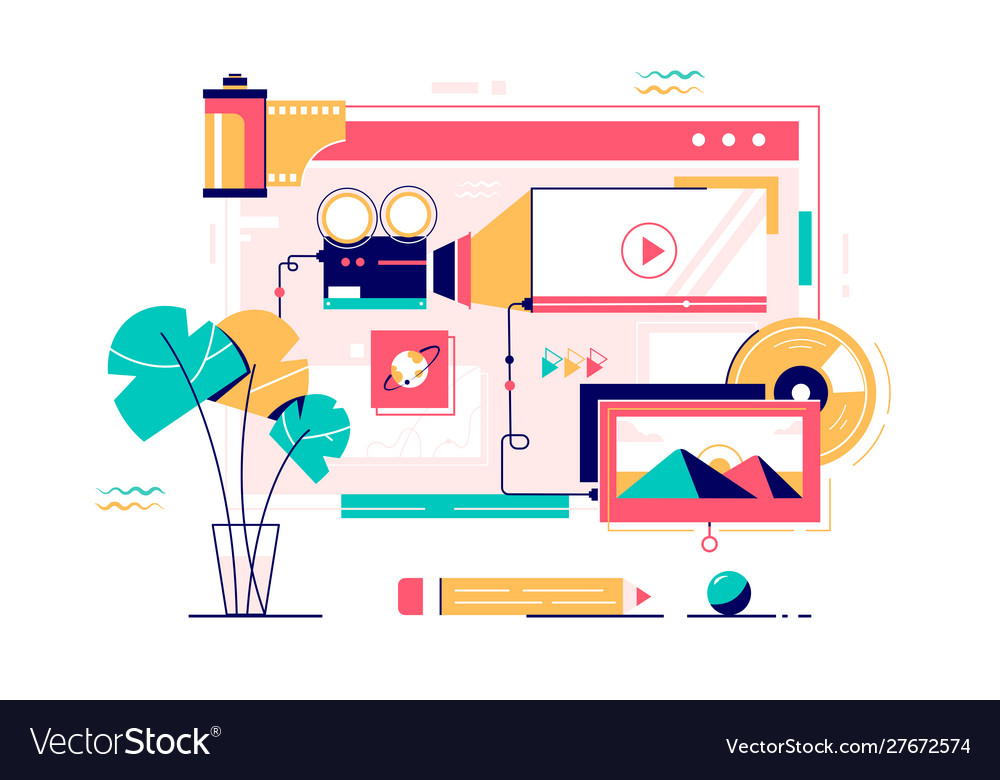 Collection online multimedia services
